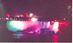 Niagara Falls Canada at Night Postcard p16409