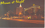 Miami Beach,FL, Biscayne Blvd Postcard