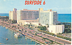 Miami Beach,FL, Fontainebleau Postcard