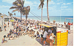 Ft Lauderdale,Florida  Hello Booth Postcard