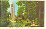 Click here to enlarge image and see more about item p16447: Lake Wales Bok Tower Florida  Postcard p16447
