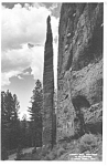 Chimney Rock Cody Rd Yellowstone Photo