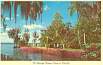 Cypress Gardens, FL Riot of Flowers Postcard