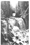 Click here to enlarge image and see more about item p1646: Kepler Cascade Yellowstone Photo