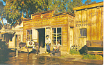 Wells Fargo Office Knotts Berry Farm,CA Postcard p16524