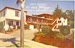 Click here to enlarge image and see more about item p16531: Travelodge  Santa Barbara CA Postcard p16531