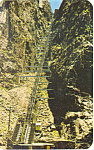 Incline Royal Gorge Canon City CO Postcard p16537
