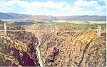 Click here to enlarge image and see more about item p16551: Royal Gorge Bridge, CO Postcard