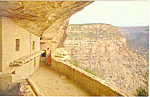 Click here to enlarge image and see more about item p16554: Mesa Verde National Park  CO Postcard