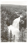 Upper Falls  Yellowstone  Photo