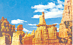 Click here to enlarge image and see more about item p16561: Bryce Canyon National Park, Utah Postcard