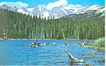 Click here to enlarge image and see more about item p16573: Brainard Lake, Ward, CO Postcard