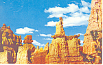 Click here to enlarge image and see more about item p16576: Bryce Canyon National Park CO Postcard p16576