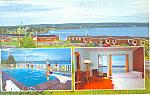 Trailsmen Motel, Baddeck, Nova Scotia,Postcard
