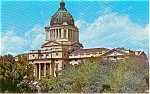 Pierre South Dakota State Capitol Building  Postcard p1660