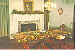 John Holmes House Dining Room, Cape May, NJ Postcard