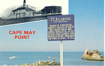 SS Atlantus Cape May Point  NJ Postcard p16612