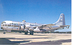 Click here to enlarge image and see more about item p16652: Ohio Air National Guard KC-97L Postcard