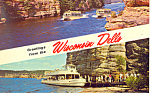 Greetings From Wisconsin Dells, WI Postcard