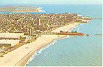 Atlantic City, NJ Beach Scene Postcard