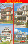 Cape May,NJ, Victorian Architecture Postcard