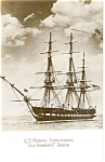 Frigate USS Constitution Photo Postcard p1666