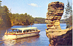 Chimney Rock, Wisconsin Dells, Wisconsin Postcard