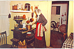 Kitchen Village Hall Museum Lindenhurst NY  Postcard p16727
