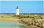 Click here to enlarge image and see more about item p16728: Lighthouse Martha s Vinyard  Massachusetts  Postcard p16728