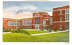 Click here to enlarge image and see more about item p1673: Baltimore MD Western High School Postcard