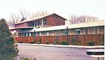 Mansfield Motel, Mansfield, PA Postcard