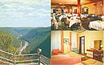 Penn Wells Motel, Wellsboro, PA Postcard