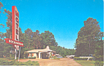 Motel Rochambeau  Williamsburg VA Postcard p16773