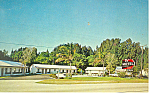 TV Motel, US 1, Stuart, Florida Postcard