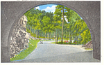 Tunnel Great Smoky Mountains National Park TN Postcard p16804