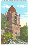 Click here to enlarge image and see more about item p16814: Mission del Rio Carmelo, Carmel,CA Postcard