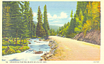 Spearfish Canyon, Black Hills, SD.Postcard