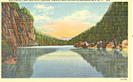 Avalanche Lake and Pass Adirondacks NY.Postcard p16820