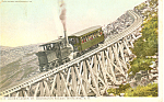 Jacobs Ladder, Mt Washington,New Hampshire Postcard