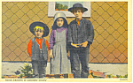 Amish Children of Lancaster County, PA Postcard p16834