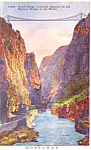 Royal Gorge Bridge Colorado Postcard p16579