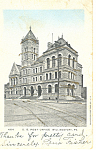 Willamsport PA US Post Office Postcard p16843 1906