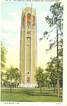 Click here to enlarge image and see more about item p16849: Singing Tower, Lake Wales, Florida Postcard