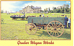 Gruber Wagon Works,Reading, PA Postcard