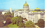 State Capitol Harrisburg PA Postcard p16874