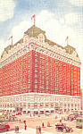 Hotel Sherman Chicago Illinois Postcard p16886