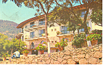 Click here to enlarge image and see more about item p16890: Frente Hotel La Borda Taxco Gro Mexico Postcard p16890