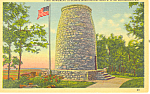 Click here to enlarge image and see more about item p16910: First Washington Monument Boonsboro MD Postcard p16910