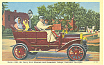 Click here to enlarge image and see more about item p16919: 1908 Buick Greenfield Village, Dearborn, MI Postcard