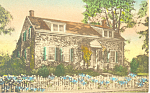 Shop in Garden Stone Ridge NY Hand Colored Postcard p16926